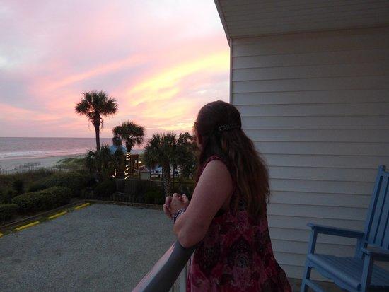 Ocean Isle Beach, NC: Phenomenal views. Just look at that sunset!