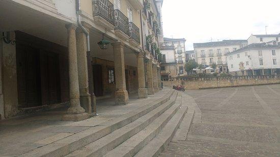 Mondonedo, Spanien: Plaza Mayor y de la Catedral