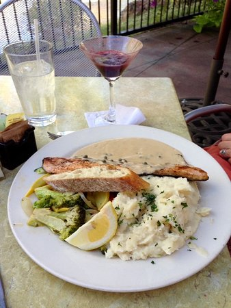 Eagle, ID: The Trout With Garlic Mashed