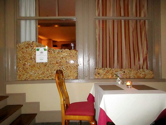 The Gateways Inn & Restaurant: Add your cork to the collection