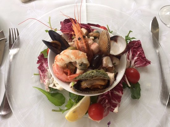 Mali Ston, Croacia: Seafood salad