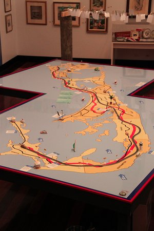 The Masterworks Museum of Bermuda Art : Interactive Map of the Old Railway Trail