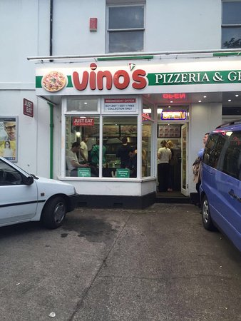 Ivybridge, UK: Vino's Pizzeria and Grill