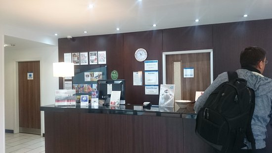 Whittlesford, UK : Reception Desk