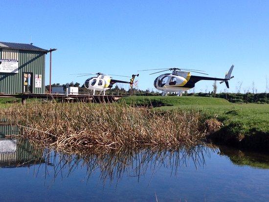Haast, Nowa Zelandia: Around the hanger
