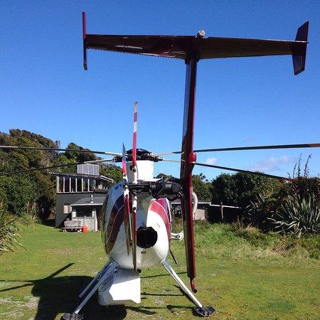Haast, Nowa Zelandia: remote batch