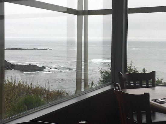Depoe Bay, Орегон: Breakfast by the sea