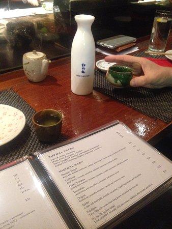 Busshari Japanese Restaurant: Sake