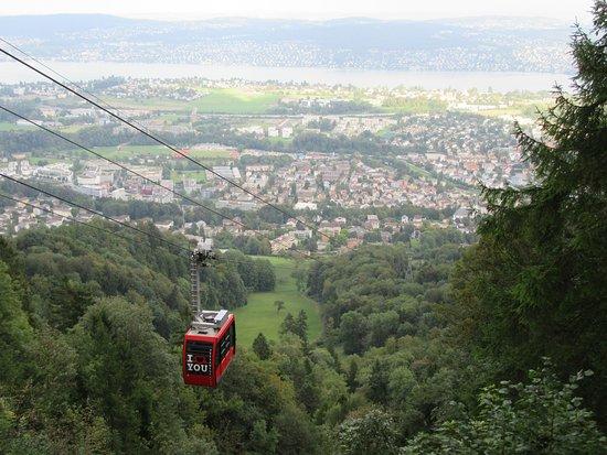 Адлисвиль, Швейцария: Cable Car