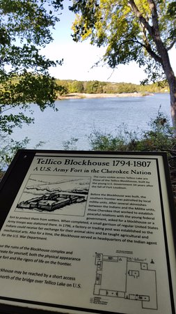 Vonore, TN: The Blockhouse across the lake. Another interesting trip.