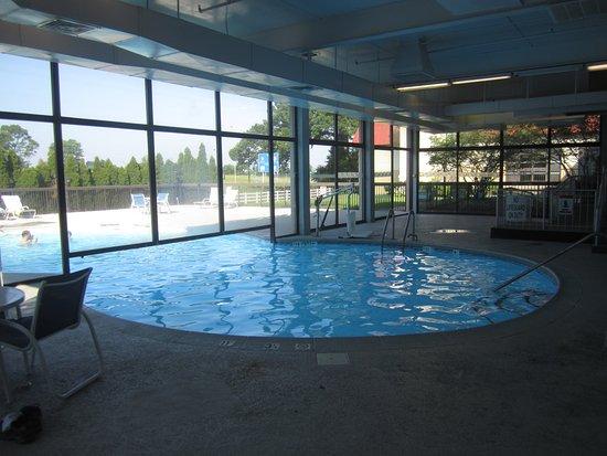 Indoor Portion Of Pool Picture Of Four Points By Sheraton Lexington Lexington Tripadvisor