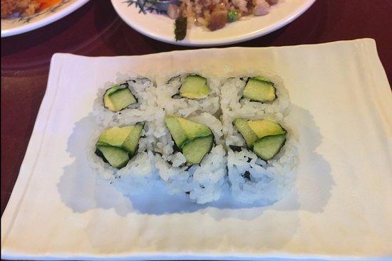 Sushi Kui: Avocado Cucumber Maki Rolls