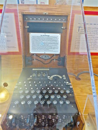 North Chatham, MA: Authentic Enigma Machine
