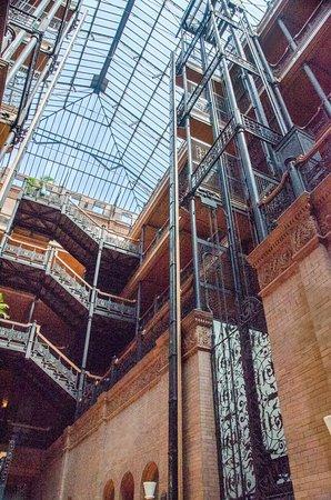 Bradbury Building: Bradbury elevator