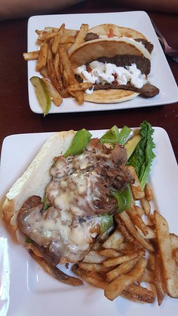 Johnson Creek, WI: Gyro & Philly Cheesesteak