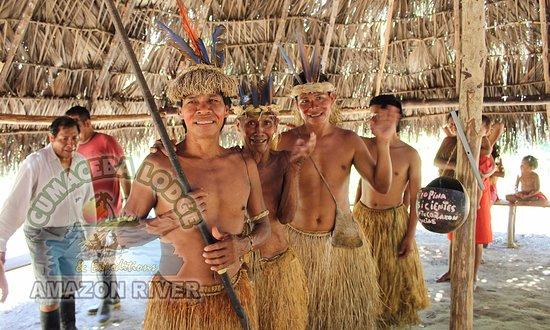 Cumaceba Lodge: Nativos Yagua