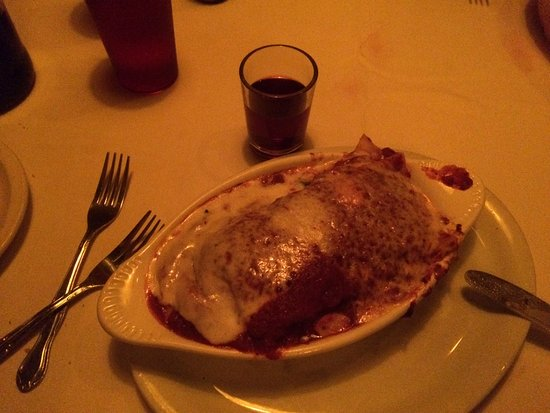 Battista's Hole in the Wall : One large lasagne