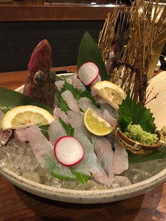 Kaizuka, Japão: メゴチのお刺身