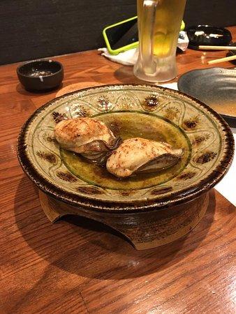Kaizuka, Japão: 牡蠣のバター炒め