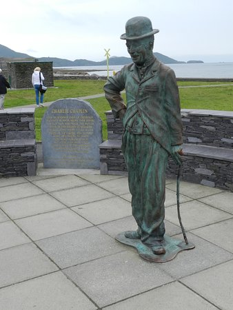Waterville, Irlandia: A rare moment of Charlie by himself
