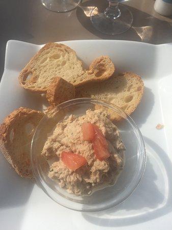 Le Gre du Vent : Rillettes de thon pain de poisson moule et porc mariné