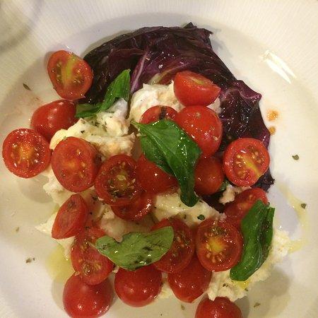 Tomato, Basil and Bocconcini