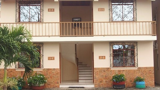 Jama, Ecuador: More options in newer area in rear. Private gated parking..