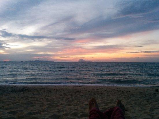 Lipa Noi, Thailand: Sunset