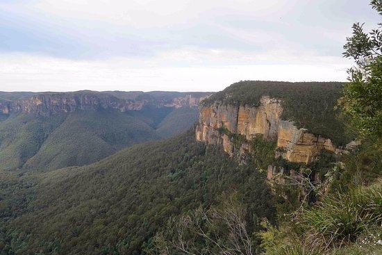 Blackheath, Australië: Stunning view from Govett's Leap