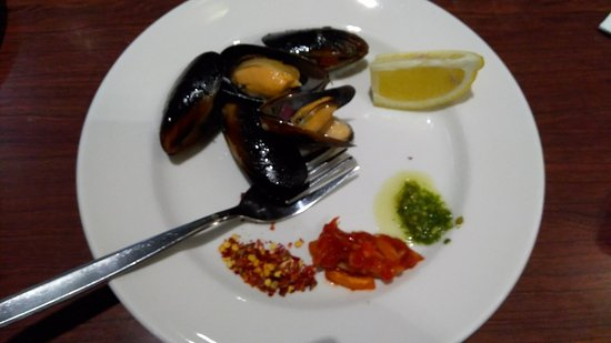 Taylors Lakes, Australia: Mussels