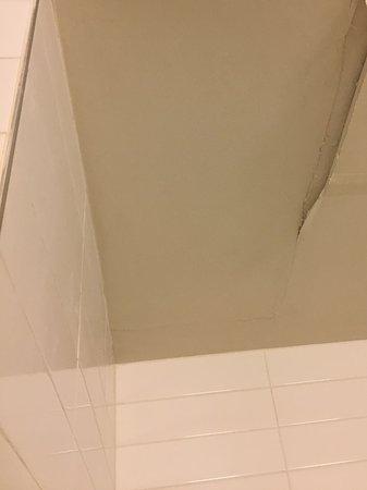 هوتل لو كريستال مونتريال: Peeling ceiling
