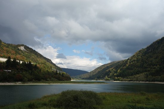Nantua, Francja: Le lac