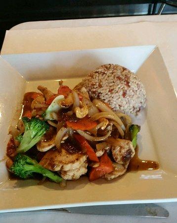 Claremont, كاليفورنيا: Spicy Asian Chicken