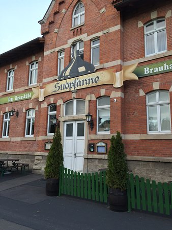 Meiningen, Duitsland: Braustubl Sudpfanne