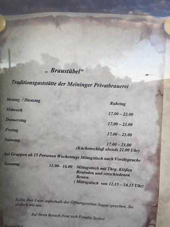 Meiningen, Alemania: Braustubl Sudpfanne