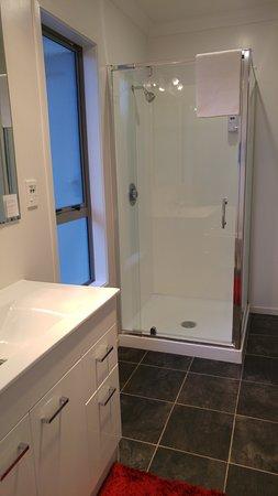 Tokoroa, Nueva Zelanda: Shower