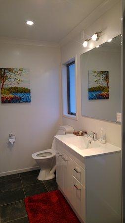 Tokoroa, Selandia Baru: Bathroom