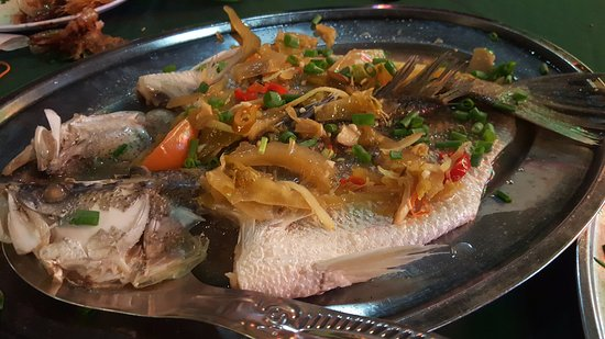 Ling Loong: Steamed Sea Bass