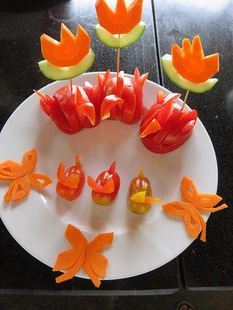 Decoración De Verduras Obrázok Tra Que Water Wheel Hoi An