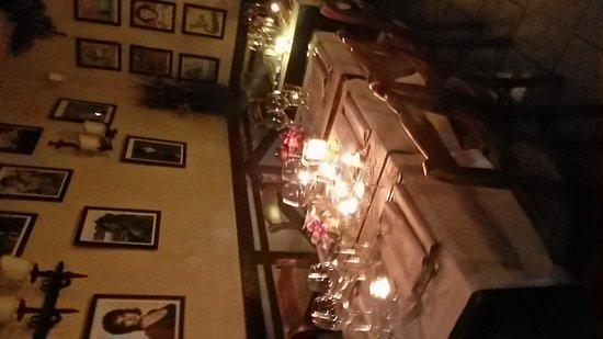 Vorst, Belgia: Soirée romantique à la locanda