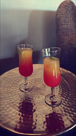 Itaga Luxury Private Game Lodge: Welcome Drinks