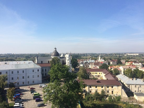 Lutsk, Ucrânia: Вид с Надвратной башни