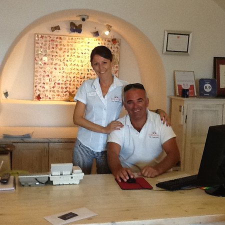 Vicki and Donny - just part of the great Esperas team!