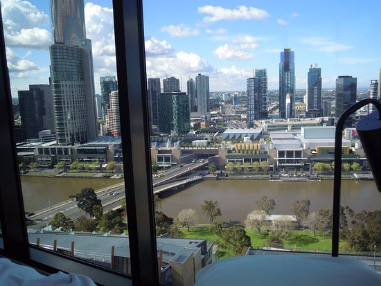 Punthill Flinders Lane Apartments: View from bedroom