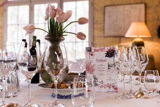 Neac, Francia: Orangerie xviii et son menu du Marché