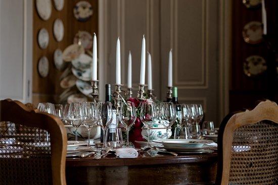 Neac, Francia: dîner aux chandelles