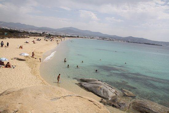 Agios Prokopios, اليونان: Общий вид пляжа