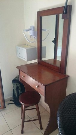 Eleni's Village: Dressing table in room