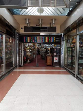 Prahran, Australia: Entrance to Bazaar