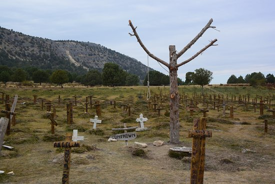 Santo Domingo de Silos, Spain: Sad Hill Cemetery